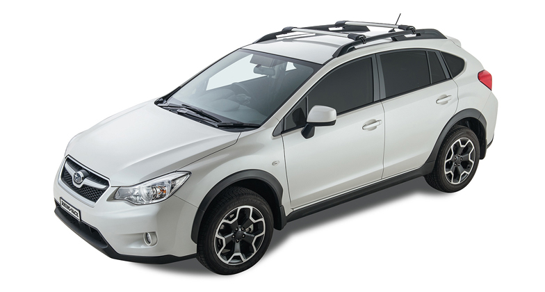 from crossbar forester rack new front set round style rear roof sub and yakima genuine bars crossbars subaru