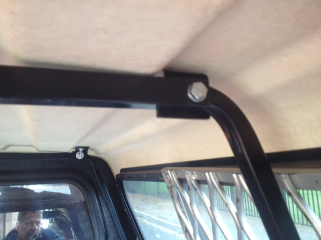 Canopy Internal Frame Thule Square Bar 1 Internal Support