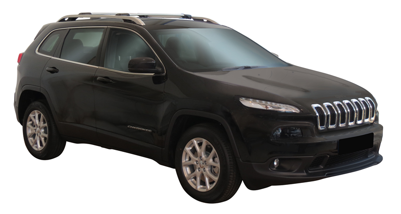 Jeep Cherokee 5dr Suv With Roof Rails Kl 01 14on Whispbar