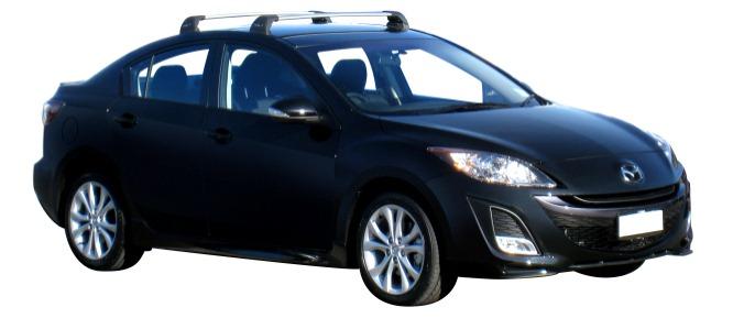 Mazda 3 5dr Hatch/Sedan 04/09 12/13 Whispbar Roof Racks (pr)