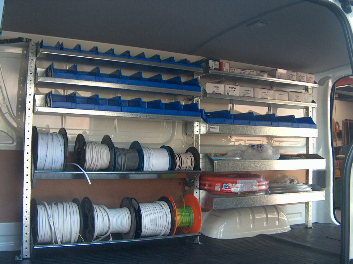 hot rod wiring diagrams electricians shelving kit renault trafic 2 bays x 1030mm  electricians shelving kit renault trafic 2 bays x 1030mm