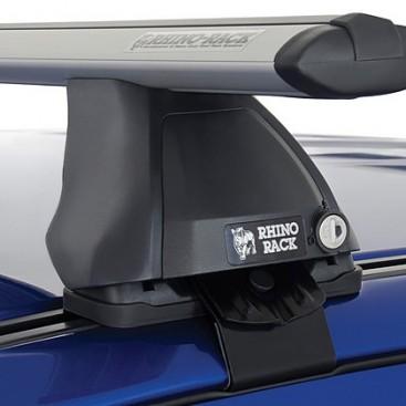 Ford Ranger Px Mazda Bton Dr Dual Cab Rhino Silver Vortex Roof Racks Pr