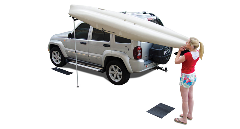 Rhino Rusl Universal Kayak Amp Canoe Side Loader Roof Rack