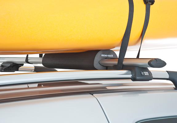 Rhino Rwp01 Roof Rack Foam Canoe Pads Pr Roof Rack World